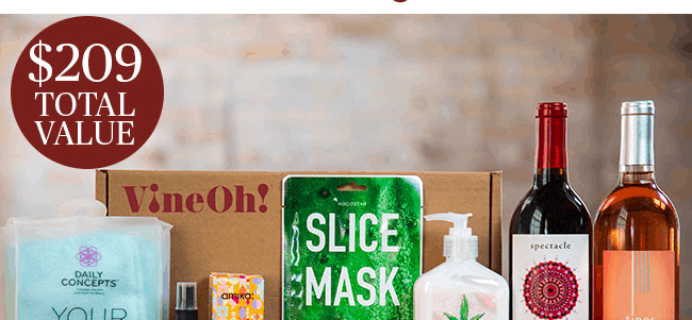 VineOh! Box Sale: Get $10 OFF + 2 Free Gifts!