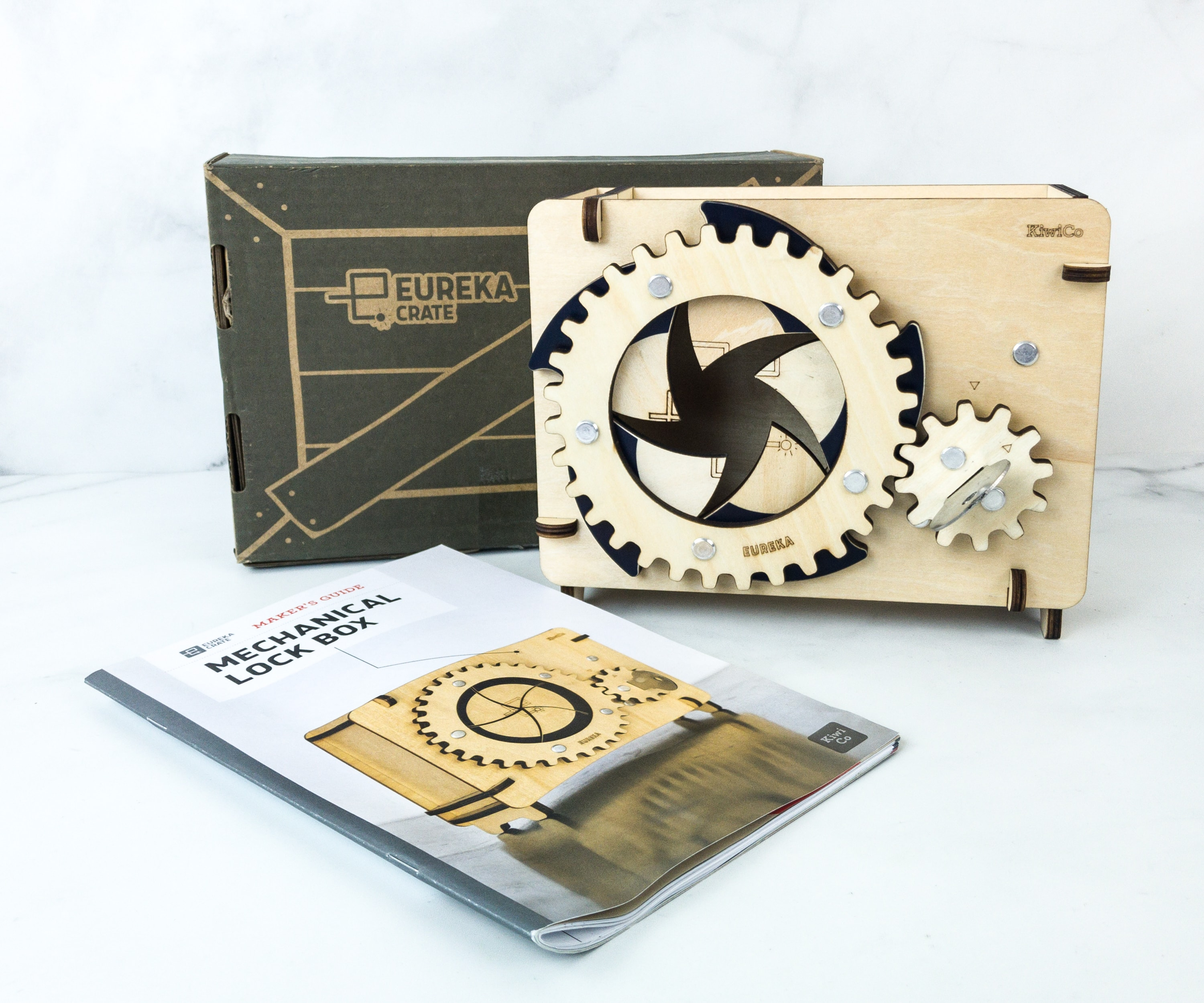 Eureka Crate Review + Coupon – MECHANICAL LOCK BOX May 2019