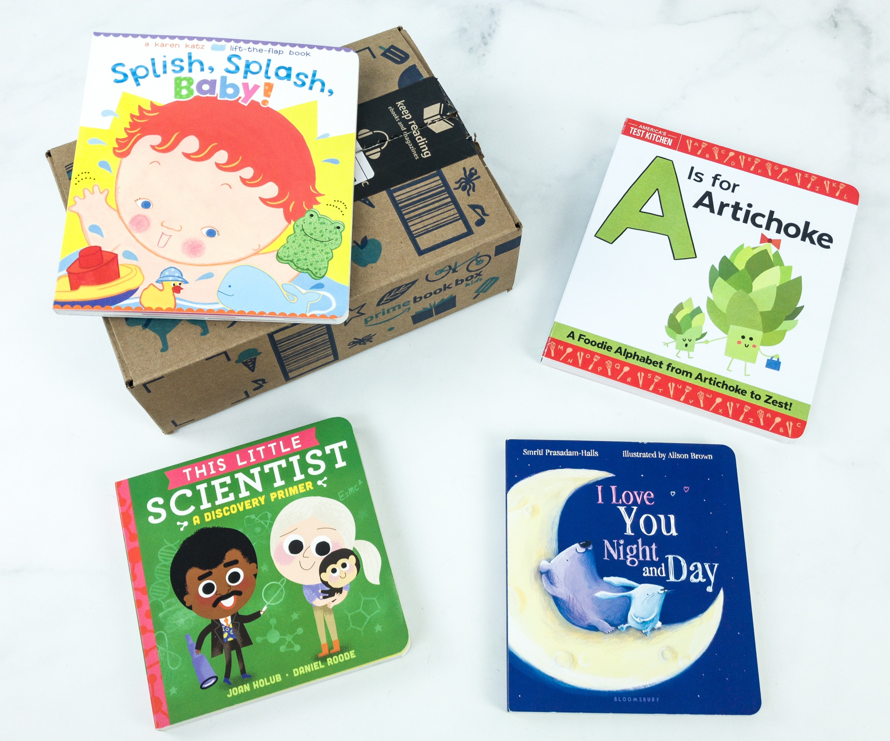 Amazon Prime Book Box Kids June 2019 Review – Baby to 2 Years