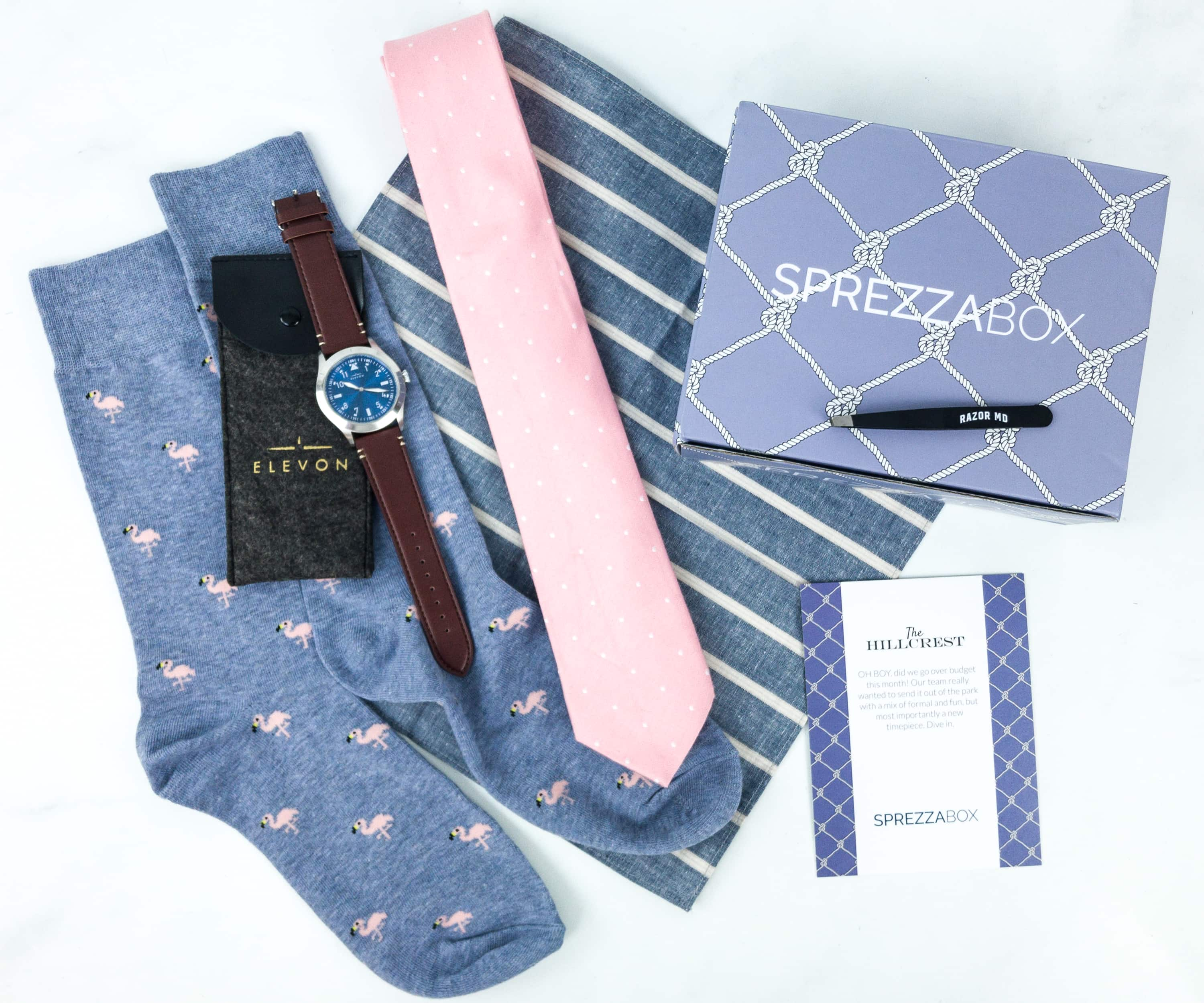 SprezzaBox June 2019 Subscription Box Review + Coupon