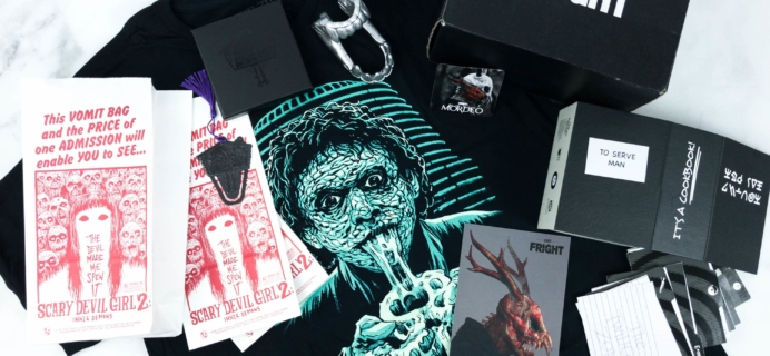 Loot Fright March 2019 Subscription Box Review + Coupon