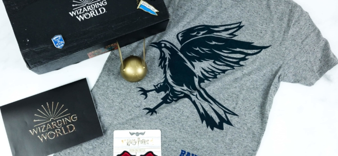 JK Rowling's Wizarding World Crate May 2019 Review + Coupon