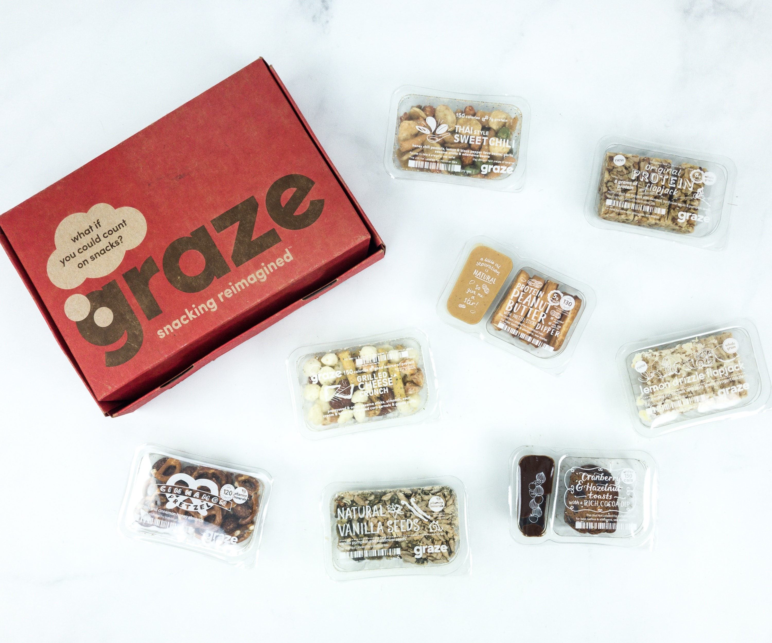 June 2019 Graze Variety Box Review & Free Box Coupon