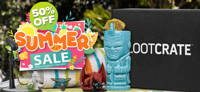 Loot Crate Summer Sale: Get 50% Off on Most Crates!