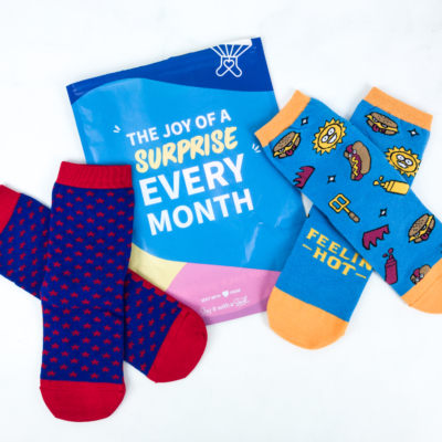 Say It With A Sock July 2019 Kids Sockscription Review + Coupon