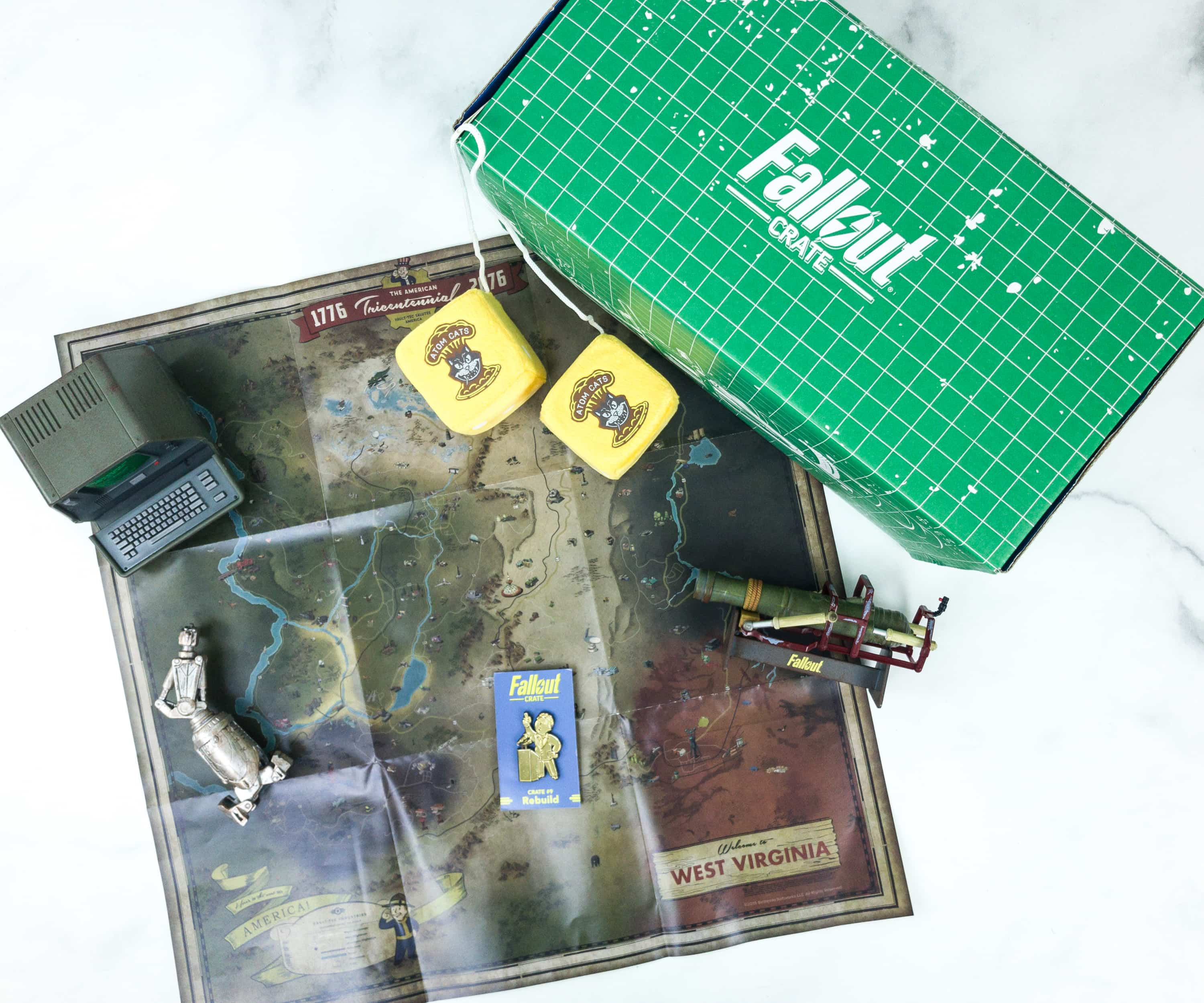 Loot Crate Fallout Crate April 2019 Review + Coupon