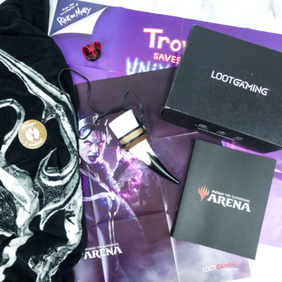 Loot Gaming May 2019 Subscription Box Review & Coupon