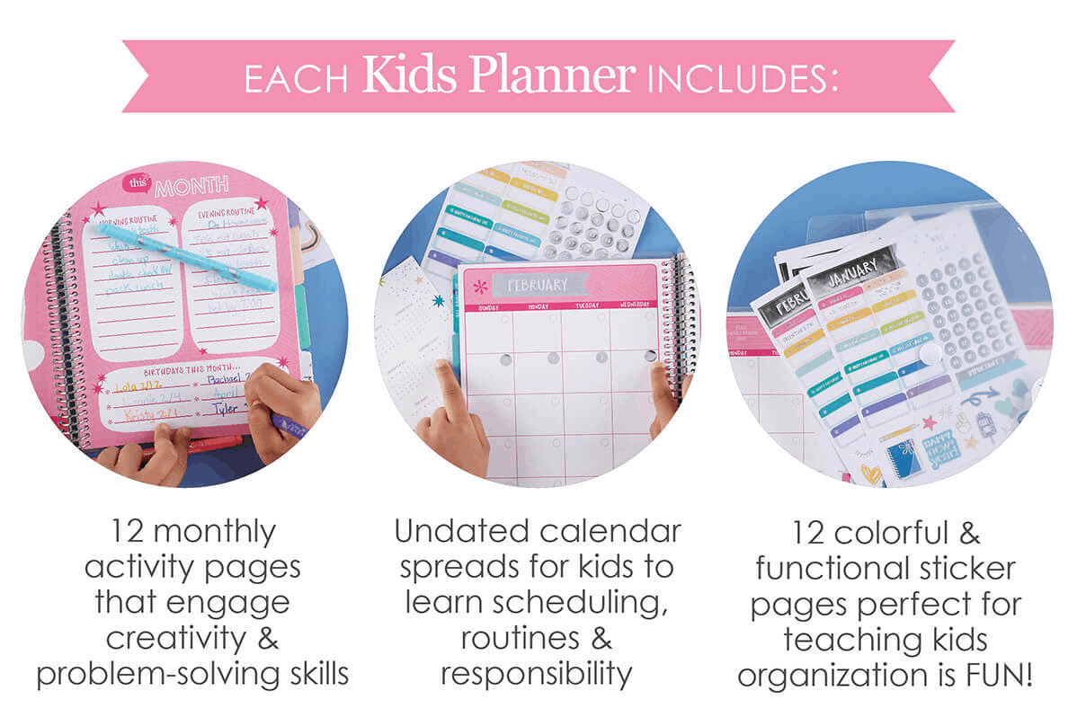 Erin Condren Kids Planner Available Now + Coupon!