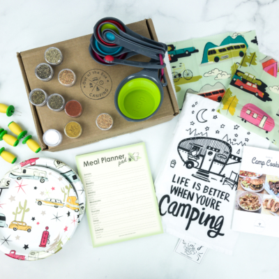 Out of the Box Camping June 2019 Subscription Box Review + Coupon