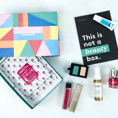 June 2019 Birchbox Subscription Box Review & Coupon – Curated Box #4