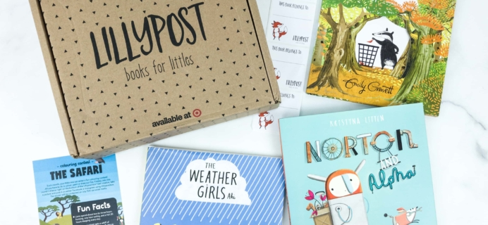 Lillypost June 2019 Board Book Subscription Box Review – PICTURE BOOKS