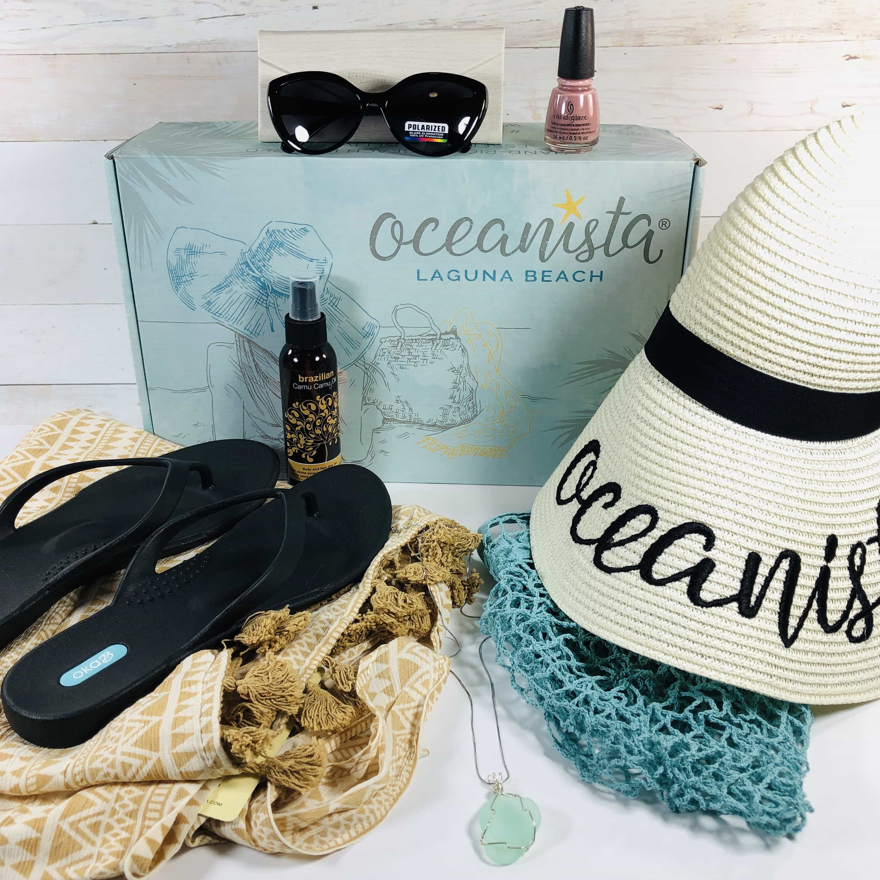 Oceanista Summer 2019 Subscription Box Review + Coupon