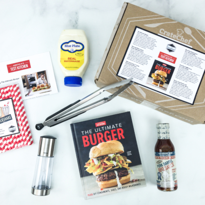 Crate Chef June-July 2019 AMERICA'S TEST KITCHEN Box Review + Coupon!