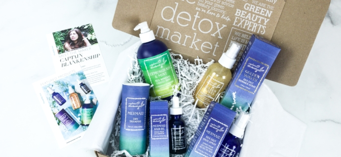 The Detox Box June 2019 Subscription Box Review