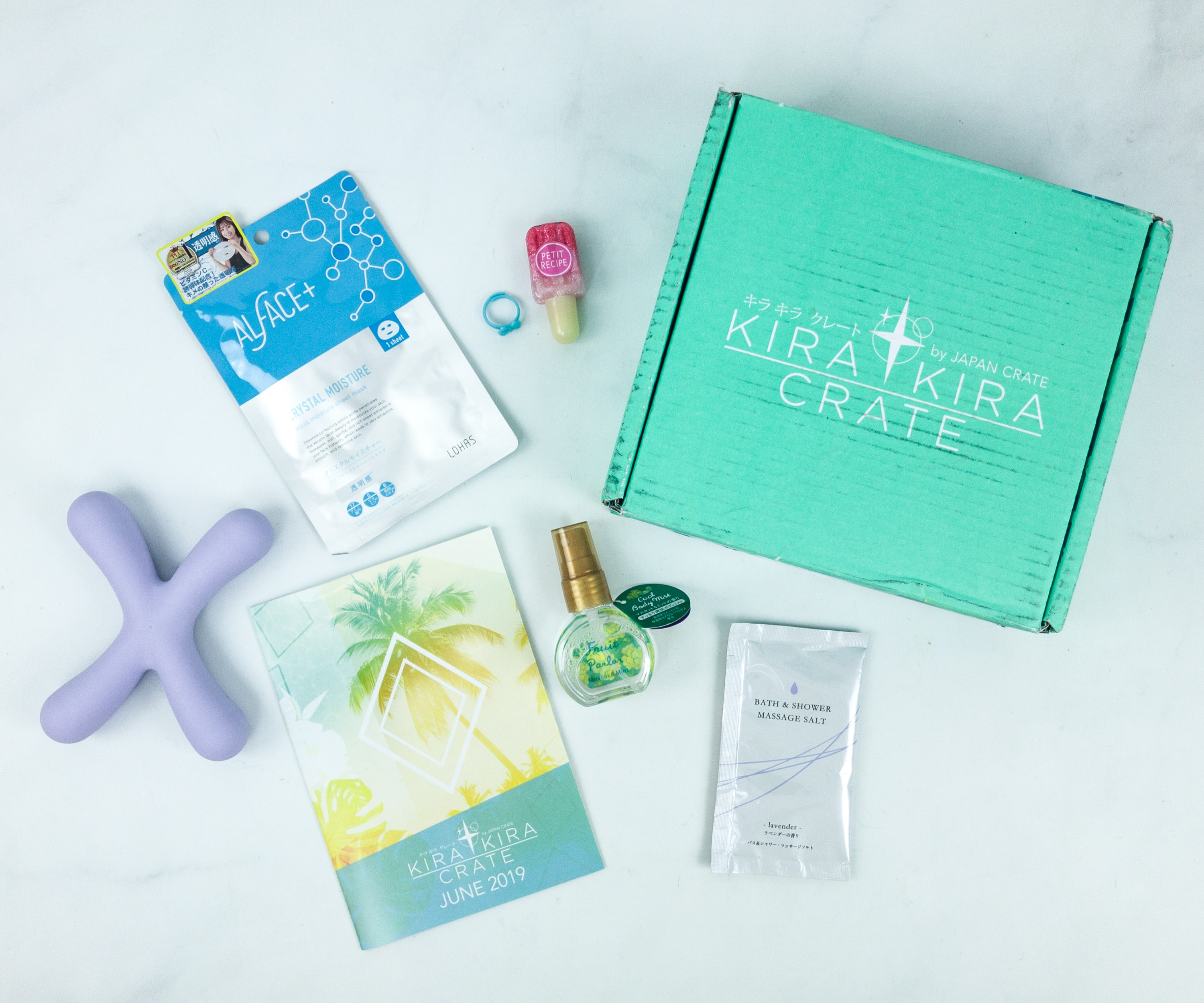 Kira Kira Crate June 2019 Subscription Box Review + Coupon