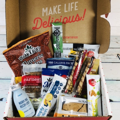 Love With Food June 2019 Deluxe Box Review + Coupon!