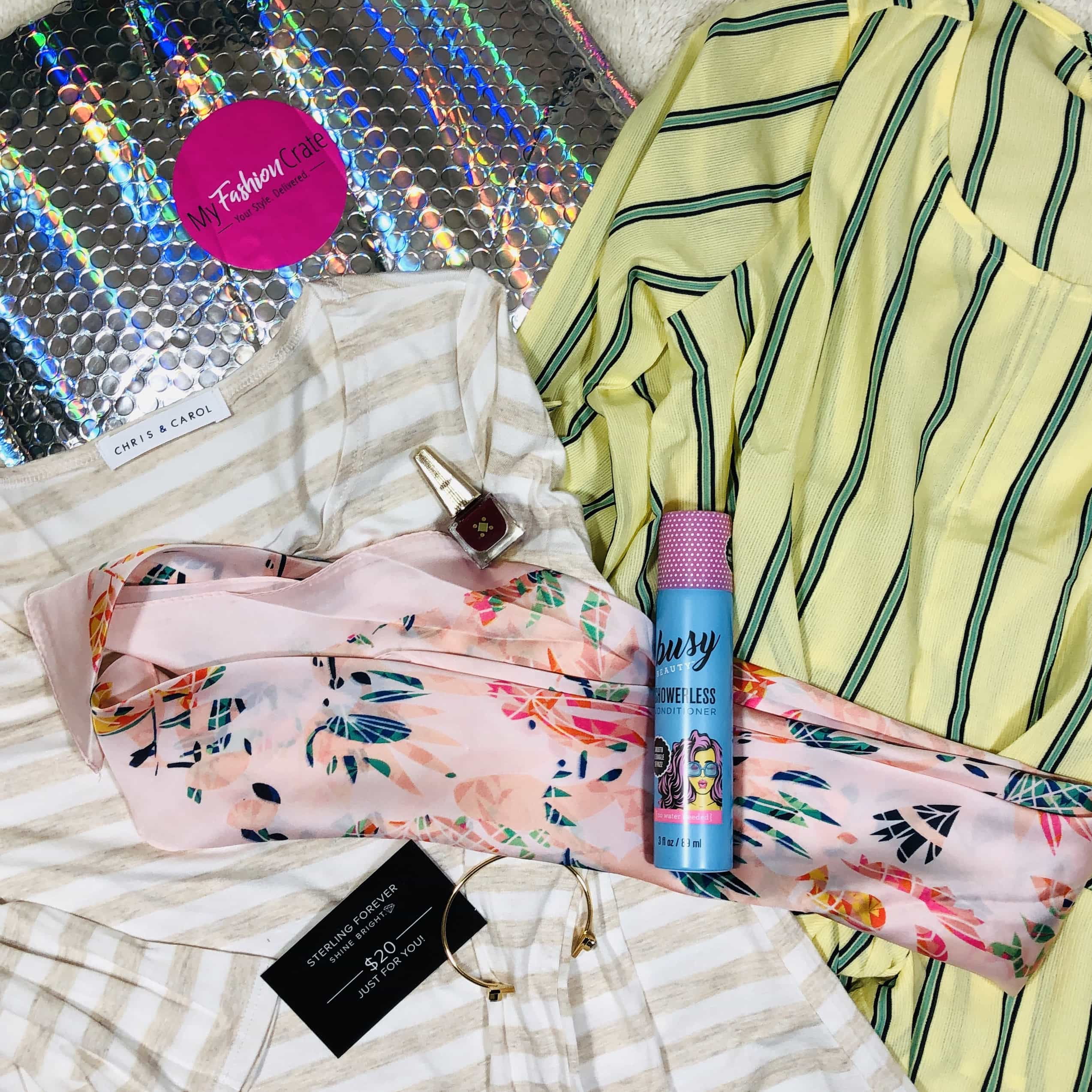 My Fashion Crate June 2019 Subscription Box Review