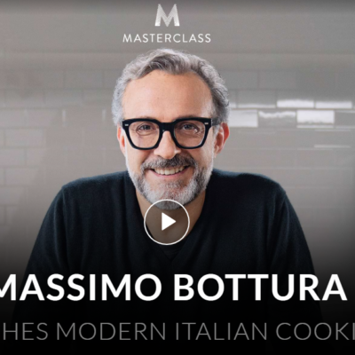 MasterClass Massimo Bottura Class Available Now!