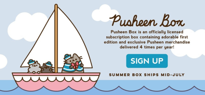 Pusheen Box Summer 2019 Spoiler #2!