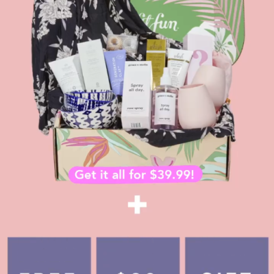 FabFitFun Sale: FREE $60 Value Mystery Bundle + $10 Off!