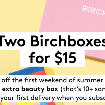 Birchbox Coupon: Get Free Mystery Box – ENDS TONIGHT!