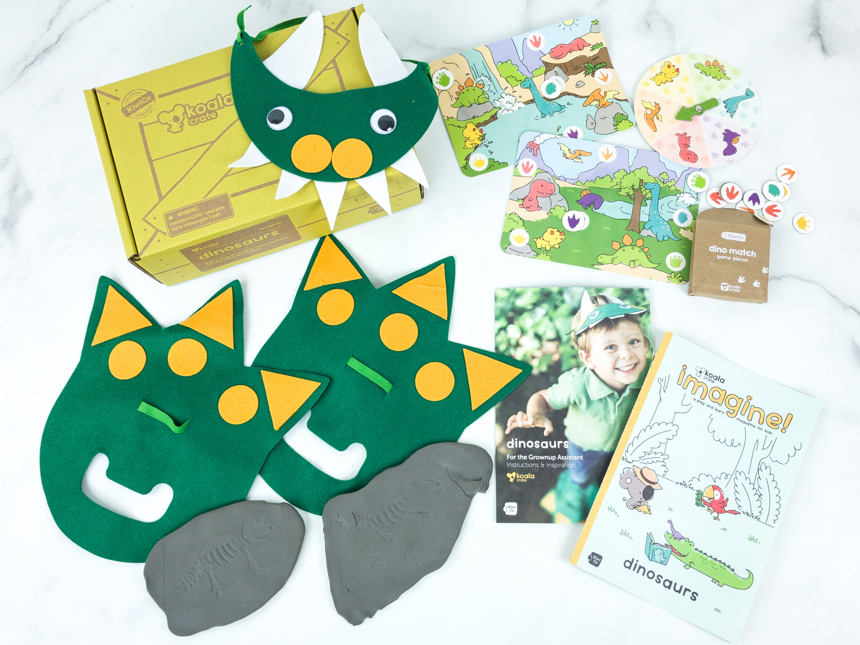 KiwiCo Koala Crate DINOSAURS Subscription Box Review & Coupon