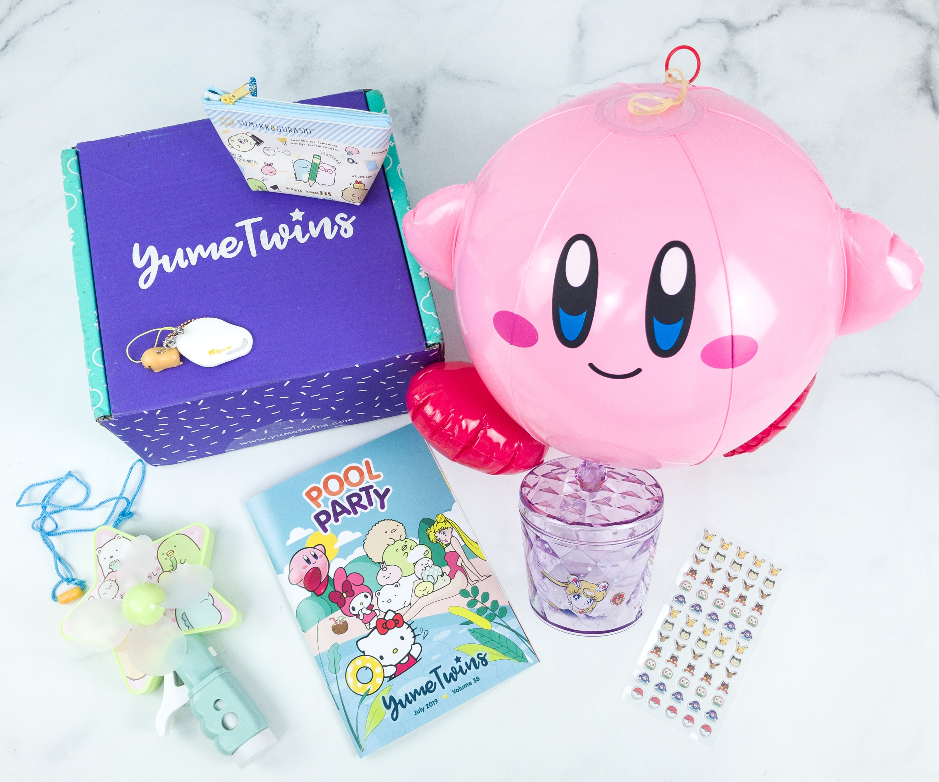YumeTwins July 2019 Subscription Box Review + Coupon