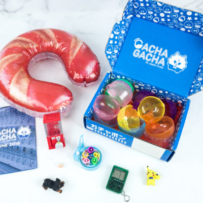 Gacha Gacha Crate June 2019 Subscription Box Review + Coupon