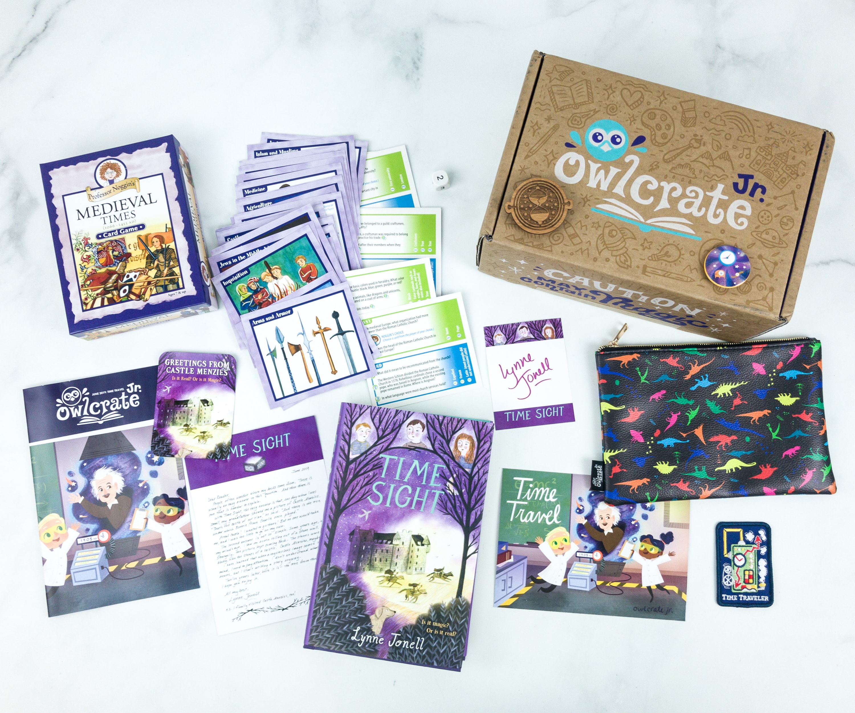 OwlCrate Jr. June 2019 Box Review & Coupon
