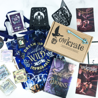 OwlCrate June 2019 Subscription Box Review + Coupon