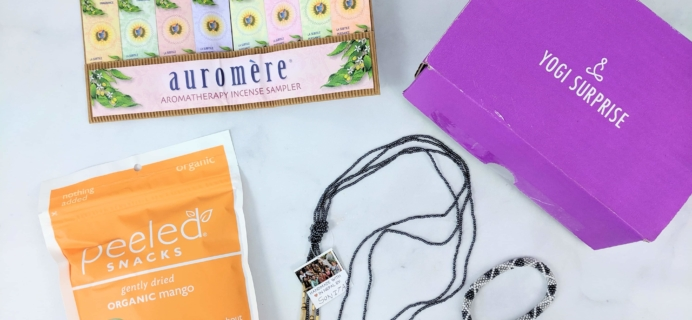 Yogi Surprise Jewelry Box June 2019 Subscription Review + Coupon