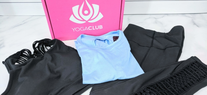 YogaClub Subscription Box Review + Coupon – June 2019
