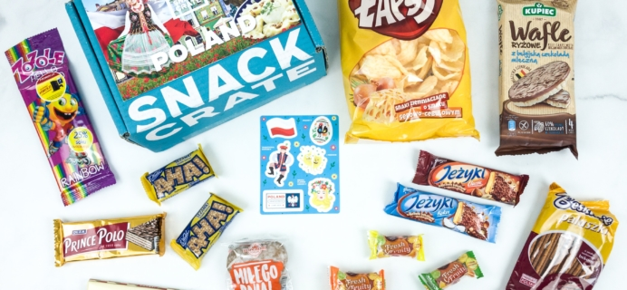 Snack Crate June 2019 Subscription Box Review & $10 Coupon