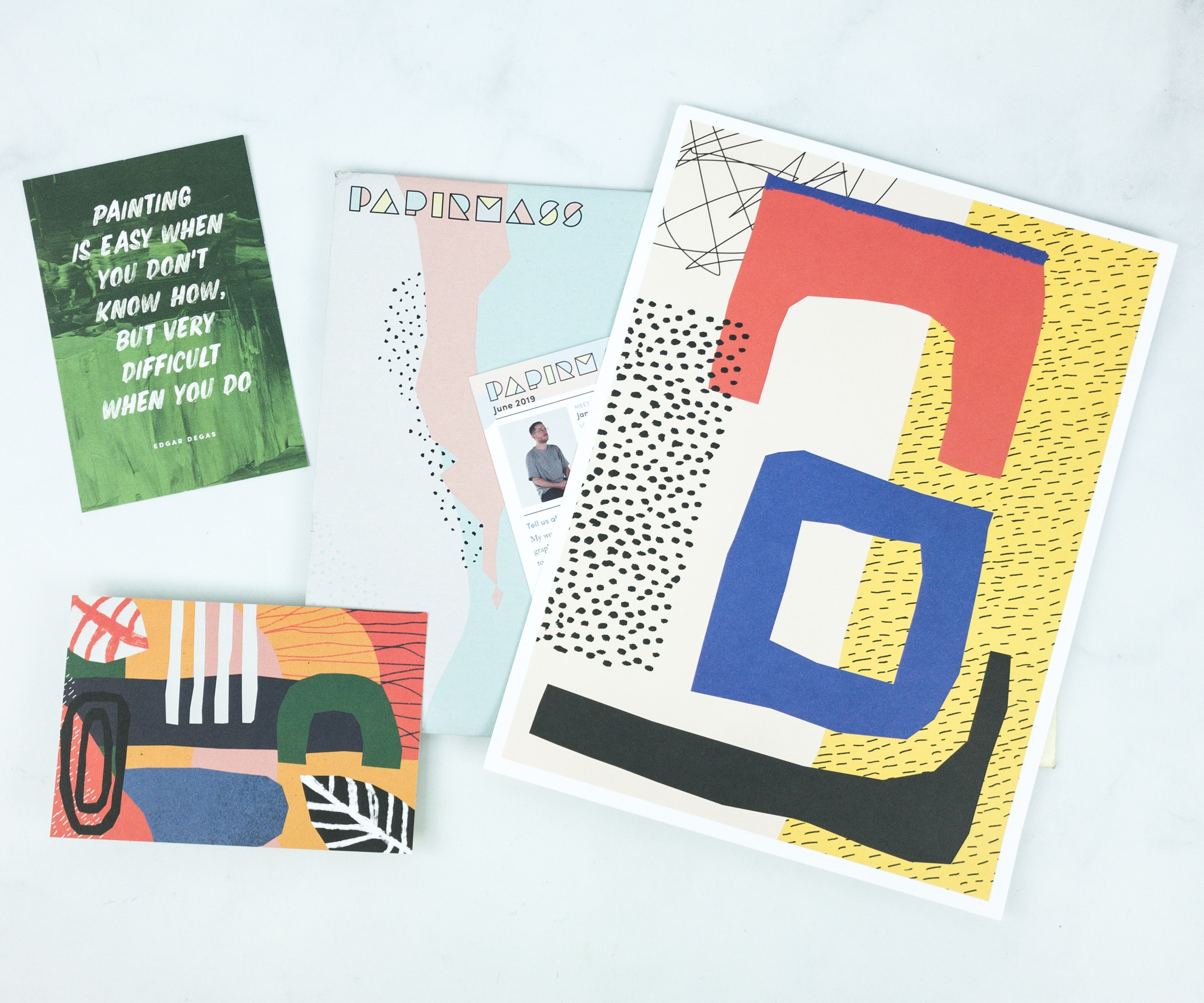 Papirmass June 2019 Subscription Box Review + Coupon