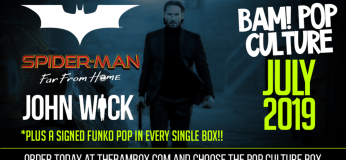 The BAM! Pop Culture Box July 2019 Franchise Spoilers!