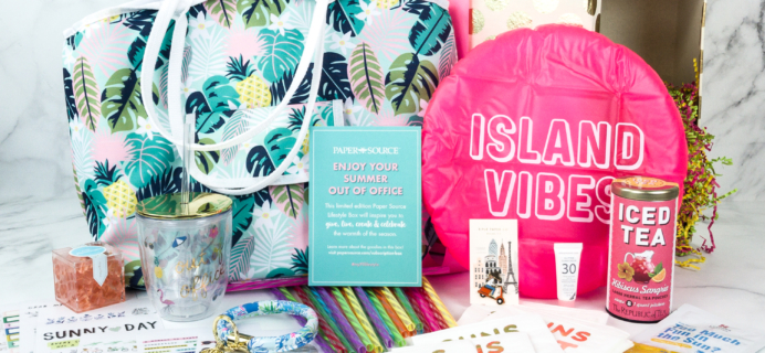 Paper Source Subscription Box Summer 2019 Review!