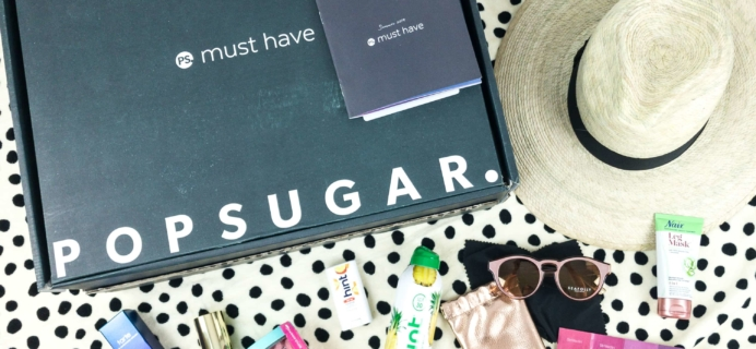POPSUGAR Must Have Box Summer 2019 Review & Coupon