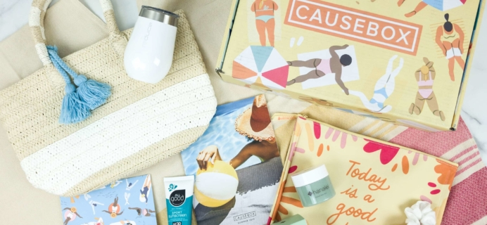 CAUSEBOX Summer 2019 Subscription Box Review + Coupon