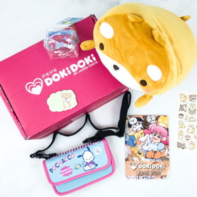 Doki Doki June 2019 Subscription Box Review & Coupon