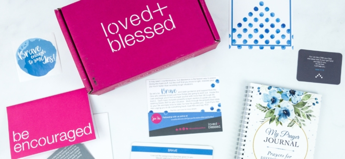Loved+Blessed July 2019 Subscription Box Review + Coupon