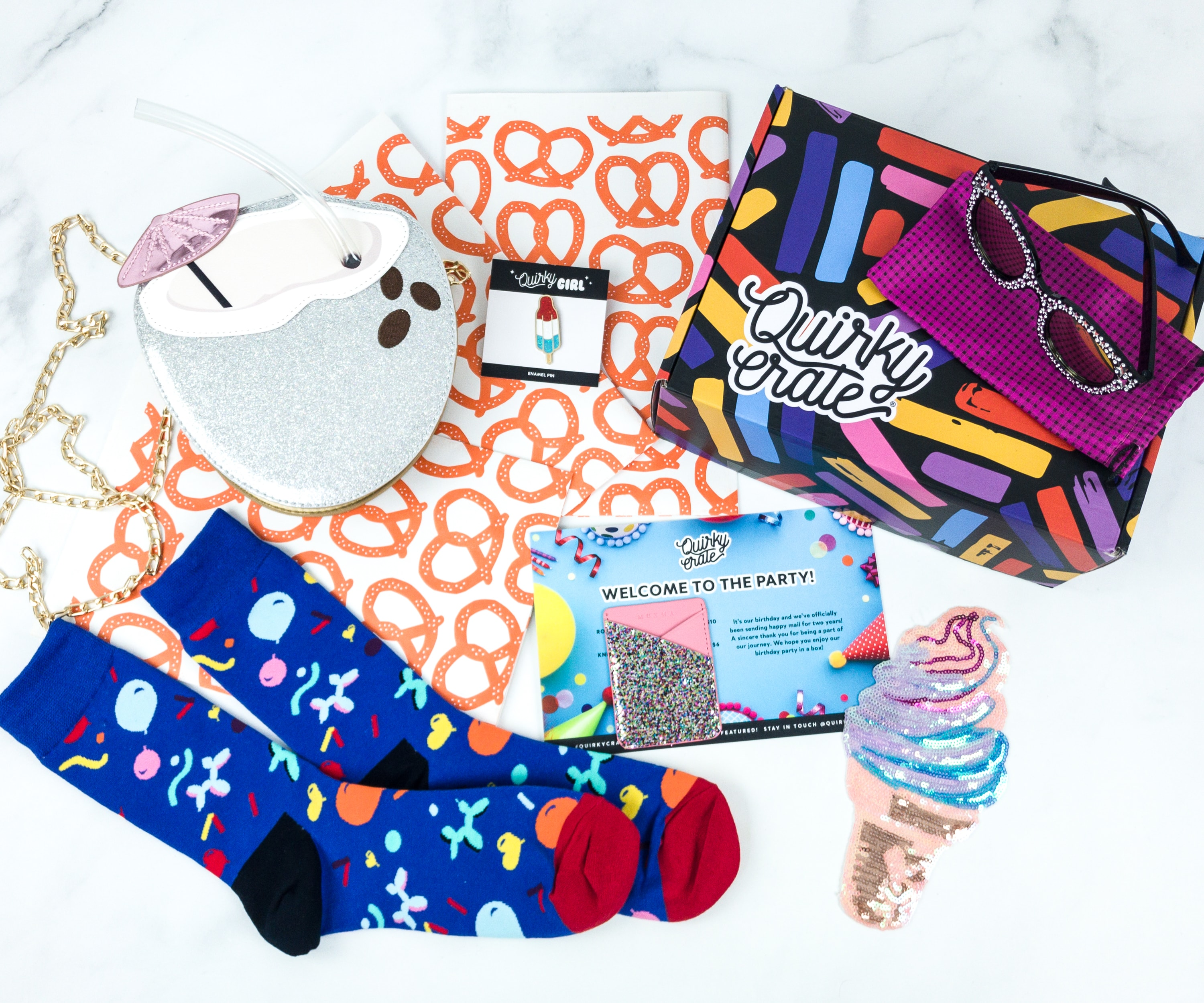 Quirky Crate June 2019 Subscription Box Review + Coupon