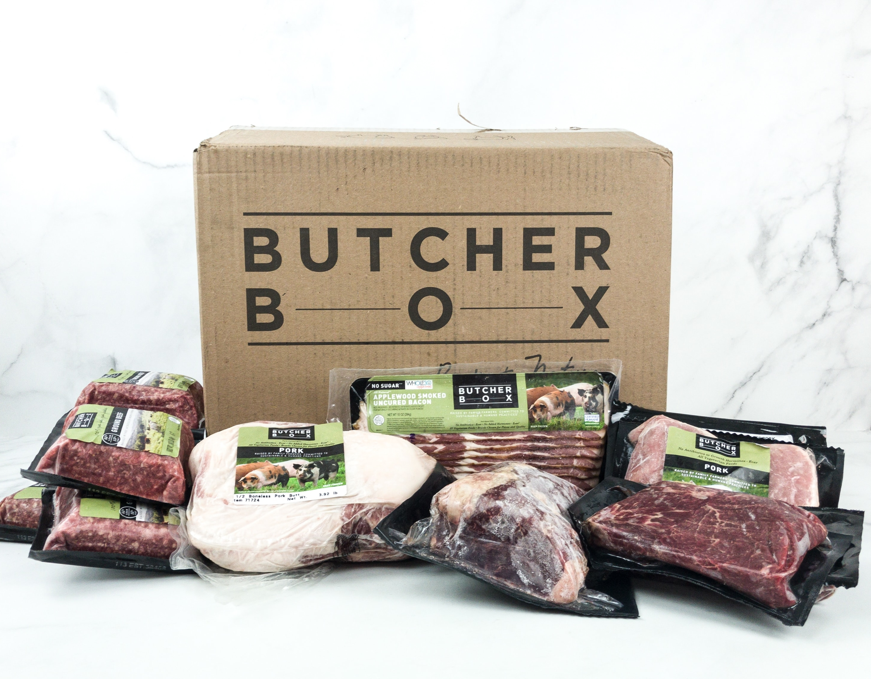 Butcher Box May 2019 Subscription Box Review + Coupon – Pork & Beef Box!