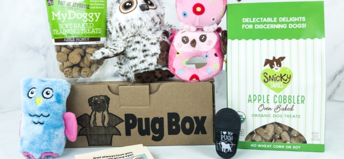 Pug Box June 2019 Subscription Box Review + Coupon!