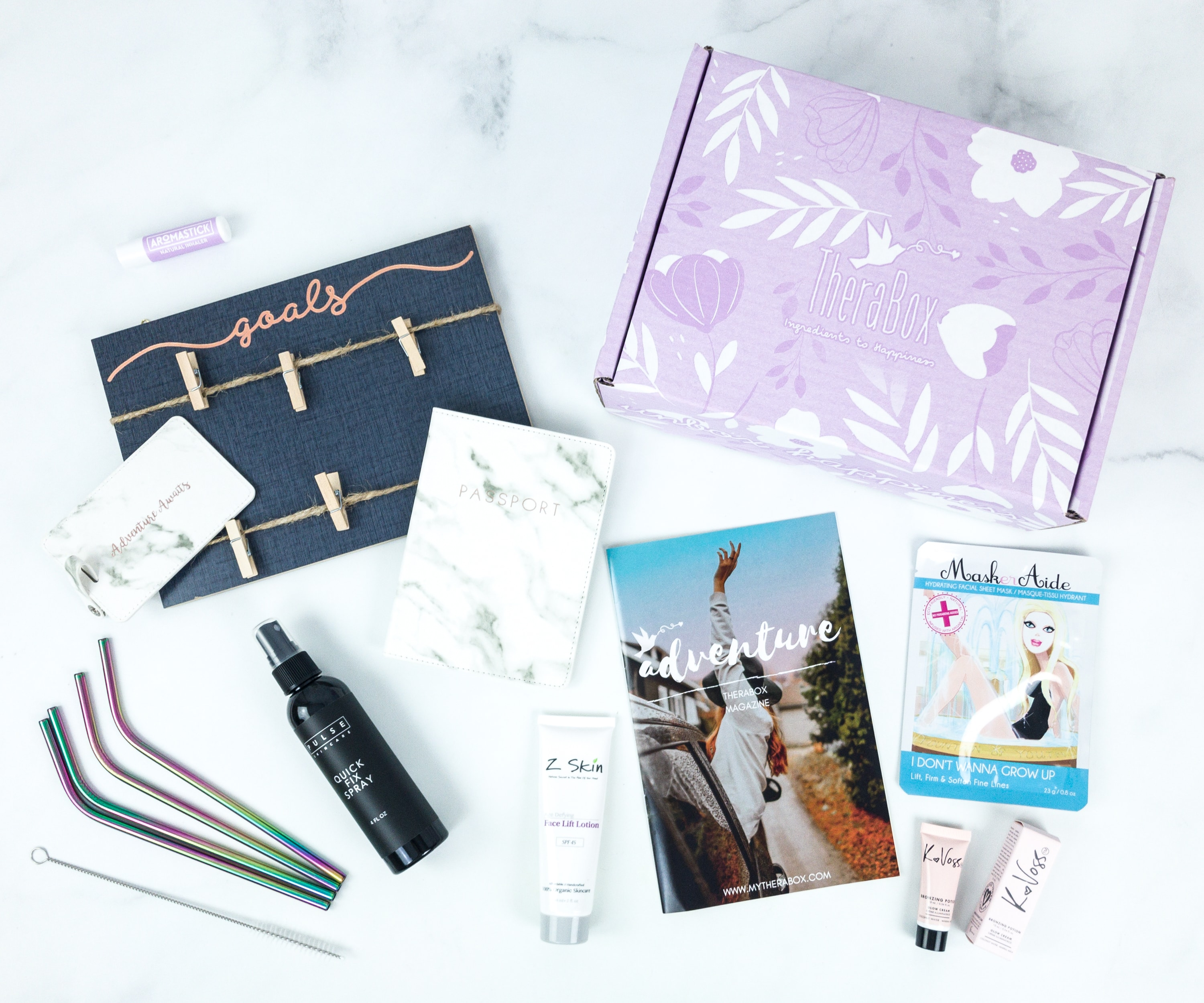TheraBox June 2019 Subscription Box Review + Coupon