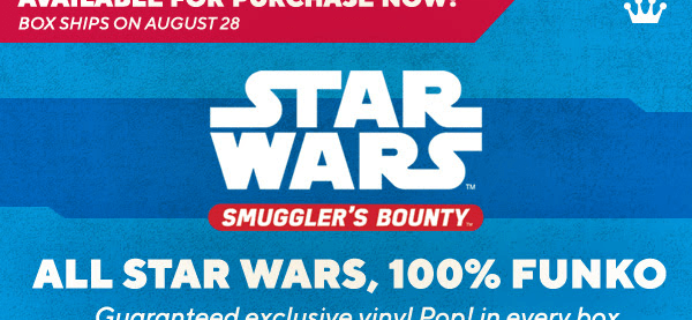 Smuggler's Bounty August 2019 Theme Spoilers!