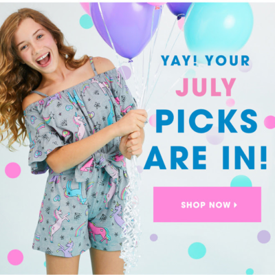 FabKids July 2019 Collection + Coupon!