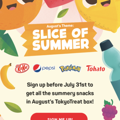 Tokyo Treat August 2019 Spoiler #3 + Coupon!