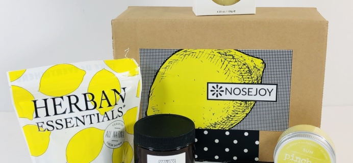NOSEJOY June 2019 Subscription Box Review + Coupon!