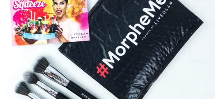 MorpheMe Brush Club July 2019 Subscription Box Review + Free Brush Coupon!