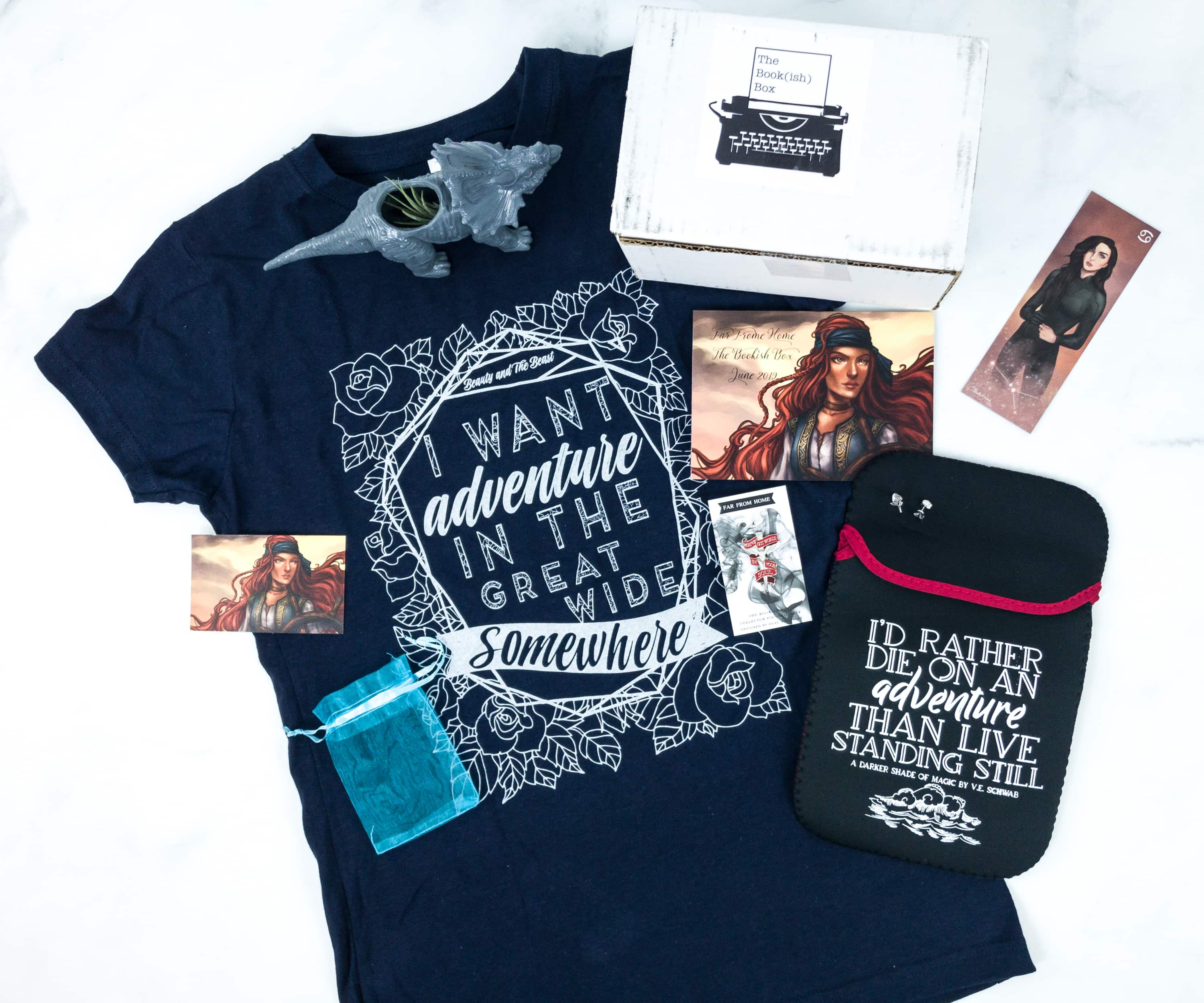 The Bookish Box June 2019 Subscription Box Review + Coupon